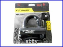 Kryptonite 5-S2 Disc lock Black and 1016 Integrated Chain 5.25'with Disc Lock