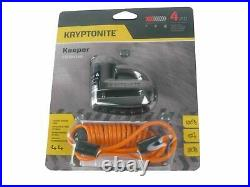 Kryptonite 5-S2 Disc lock Black withReminder NYk Chain 1217 5.5 ft with Disc Lock