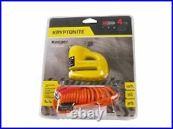 Kryptonite 5-S2 Disc lock Black withReminder and NY 1415 5 ft Chain withNY Disc Lock