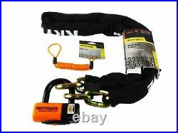 Kryptonite NY Chain 1217 5.5ft with EV series 4 Disc Lock and 3.5ft Reminder Cable