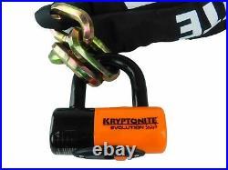 Kryptonite New York Chain 1217 5.5 ft with EV series 4 Disc Lock
