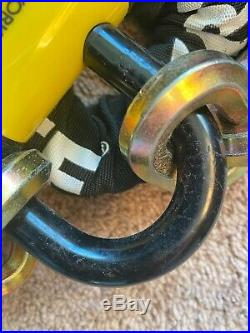 Kryptonite New York FAHGETTABOUDIT 1415 14mm Chain & New York Lock 15mm