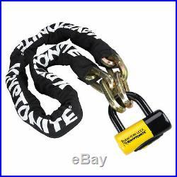 Kryptonite New York Fahgettaboudit 3 Key 14mm 100cm Chain Padlock Bicycle Lock