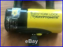 Kryptonite New York Fahgettaboudit Chain 1410 and Disc Lock 3.25' (100cm)