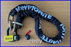 Kryptonite New York Fahgettaboudit Chain Lock Bicycle Moped Motorcycle