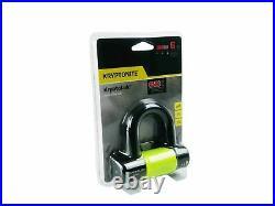 Kryptonite Stronghold Series Black & Yellow New York Chain 1217 5.5 ft Disc Lock