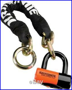 Kryptonite York Noose Chain 1275 and Evolution Disc Lock 2.5' 70cm