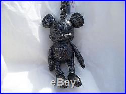 LIMITED NWT COACH X DISNEY MICKEY MOUSE Leather Bag Keychain Charm Doll F59152