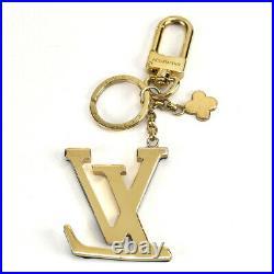 LOUIS VUITTON Keyring Bag Charm Porto Cle LV Capucines Keychain M63080