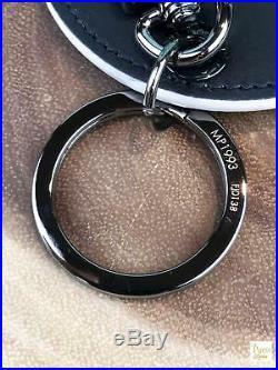 LOUIS VUITTON Vivienne Illustre Bag Charm Black Monogram Key Holder SALE! EUC