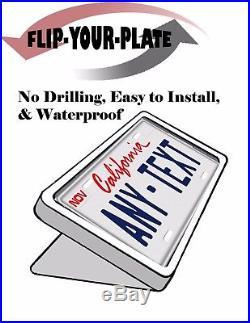 License Plate Flipper Wireless Keychain Remote Control Motorized Water-Proof