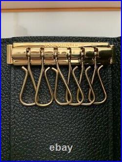 Louis Vuitton 6 Key Holder Empriente Noir Authentic, Excellent Used Condition
