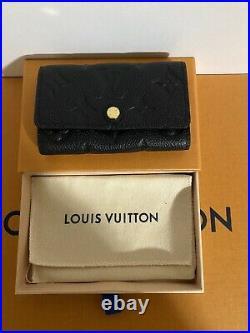 Louis Vuitton 6 Key Holder Empriente Noir Brand New! Authentic