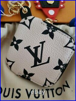 Louis Vuitton AUTHENTIC KEY CHARM GIANT IVORY & BLACK, CRAFTY LIMITED