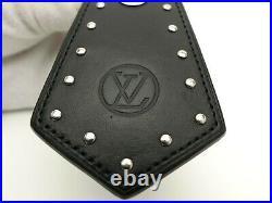 Louis Vuitton Auth Metal eclipse Porte Cles enchappe legacy Key Chain Bag Charm