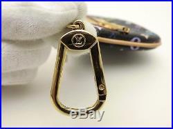 Louis Vuitton Auth Monogram MULTICOLORE Pochette Plate MM Key Chain POUCH Bag LV