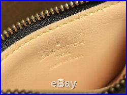 Louis Vuitton Authentic Monogram MULTICOLOR Black Key Chain Coin Purse Wallet