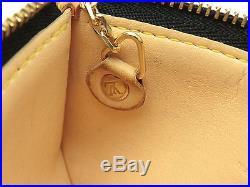 Louis Vuitton Authentic Monogram MULTICOLORE Noir Key Chain Coin Purse Wallet LV