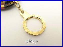 Louis Vuitton Authentic Monogram MULTICOLORE Noir Mini Light Key Chain Bag Charm