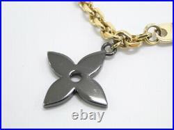 Louis Vuitton Bag Charm Chain Key Holder Ring M67379 Logo Italy 16170339200 K