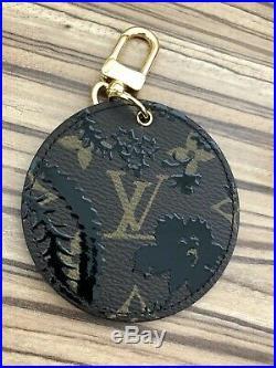 Louis Vuitton Black Blossom Limited Edition Keyring Bag charm 2017