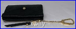 Louis Vuitton Black Card Holder Recto Verso Wallet Monogram Empreinte Leather