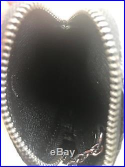 Louis Vuitton Black Vivienne Zip Bag Charm and Key Holder