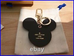 Louis Vuitton Damen Schlüsselanhänger Minnie Mouse Black/Brown Key Chain