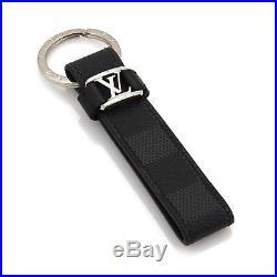 Louis Vuitton Damier Graphite Canvas Dragonne LV Key Holder