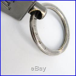 Louis Vuitton Damier Infini Keyring (Onyx) Porte Cle ragonne M66496 BF322209