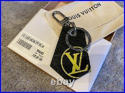 Louis Vuitton Epi Leather Key Chain Bag Charm Key Ring