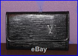 Louis Vuitton Epi Leather Multicles 6 Key Case LV Monogram Holder Vintage Noir