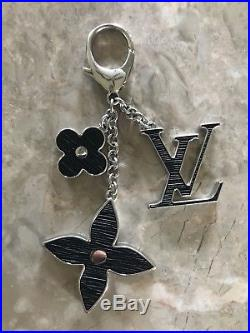 Louis Vuitton Fleur D'Epi Noir (black) Bag Charm Authentic