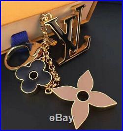 Louis Vuitton Fleur De Monogram Bag Charm KeyHolder with LV Box