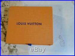 Louis Vuitton Fleur Monogram Key Holder And Bag Charm With Box