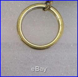 Louis Vuitton Keyring Key Holder Bag Charm Women's Accessories Keychain YB 09