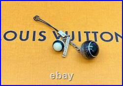 Louis Vuitton LV Monogram Telephone Strap Bag Charm Key ring E-1194