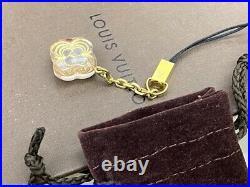 Louis Vuitton LV Monogram Telephone Strap Bag Charm Key ring J-1031
