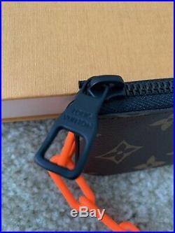 Louis Vuitton Monogram Chain Key Pouch Pochette Clefs Wallet Virgil Abloh Men