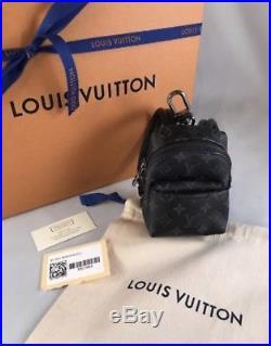 Louis Vuitton Monogram Eclipse (Mini Apollo) BACKPACK BAG CHARM M61964