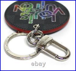 Louis Vuitton Porte Cles Damier Graphite Key Chain Charm M68836 #51887 from JP