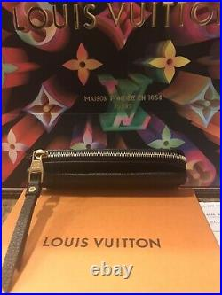 Louis Vuitton Recto Verso Card/Wallet HolderBlack Emp Leather. Preowned