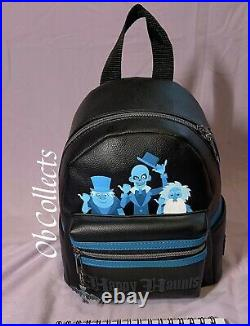 Loungefly Disney The Haunted Mansion Hitchhiking Ghosts Mini Backpack NWT