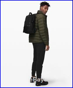 Lulunwt New Crew Backpack 22lblack Free Usps Priorityblack Logo & Key Chain