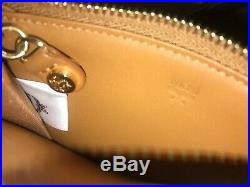 MCM Brand Luxury Leather Wallet Coin Purse Keychain Monogram Brand New Condition