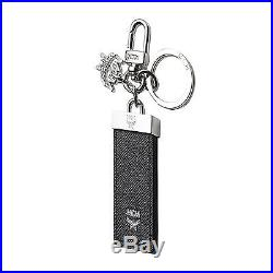 MCM MXZ6SLL60BK New Bric Key Holder chain Pendants Accessories For Unisex Black