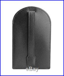 MONTBLANC MEISTERSTUCK BLACK LEATHER KEY CASE With RING 103383 NEW GERMANY NO BOX