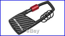 Mercedes-Benz AMG Collection Carbon/Black/Red Carabiner Keyring B66953430