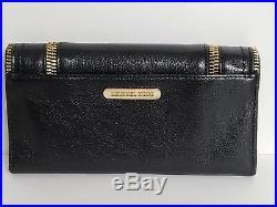 Michael Kors Large Black Naomi Handbag Satchel Shoulder Purse and Wallet NWOT
