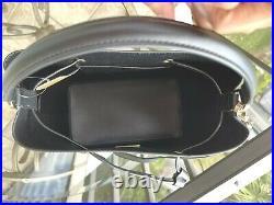Michael Kors Large Leather Crossbody Messenger Handbag Bag + Keychain id Wallet